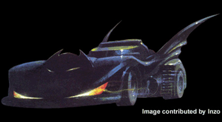 Batman: Manbat Batmobile