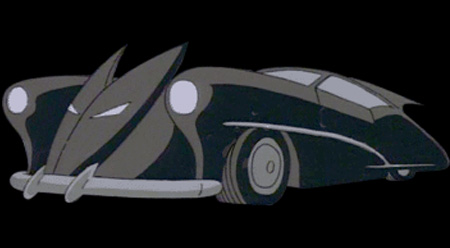Batman: The Animated Series The Mechanic Batmobile