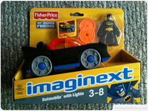 Imaginext Batmobile - click to enlarge
