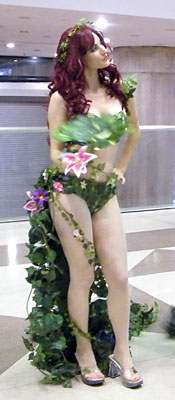 Poison Ivy at NYCC 2011