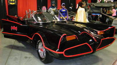 1966 Batmobile replica at NYCC 2011