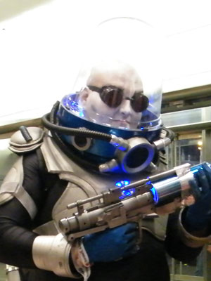 Mr. Freeze at NYCC 2012