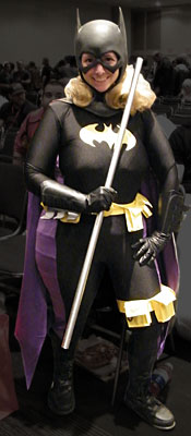 Stef Brown Batgirl at NYCC 2013