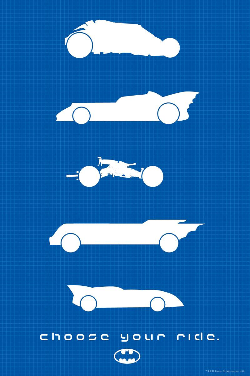 2012 WonderCon Print - Choose Your Ride