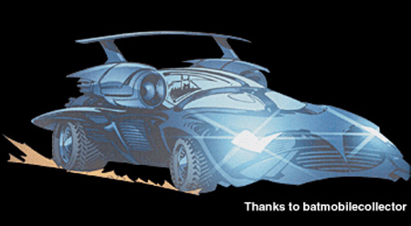 JLA/Hitman Batmobile